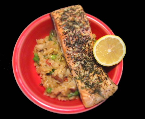 Rosemary Salmon Risotto | real food. home made.