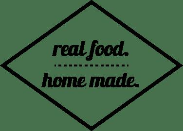 real food. home made.