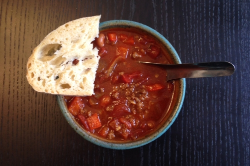 Dirty Bastard Chipotle Chili | real food. home made.