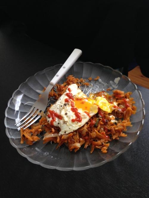 Smoky Thyme Sweet Potato Hash | real food. home made.