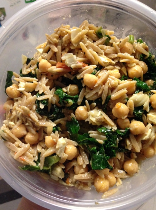 Orzo Salad with Chickpeas and Kale | real food. home made.