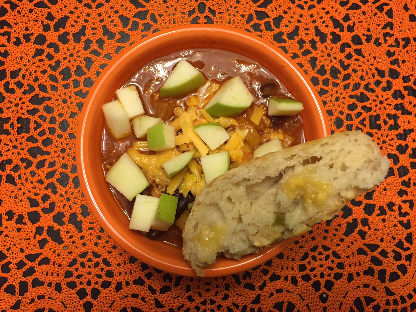 chipotle turkey apple chili traverse city cottage real food